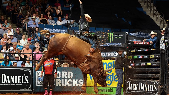 d33fcf0ad88b7 Professional Bull Riders - Mauney vs. Bushwacker reminiscent of ...